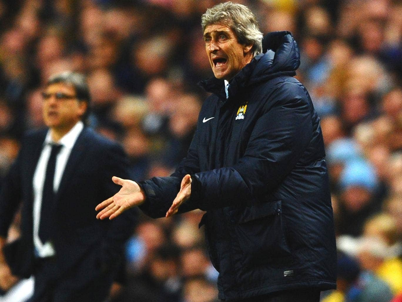 Manuel Pellegrini was furious over the decision to award Barcelona a penalty