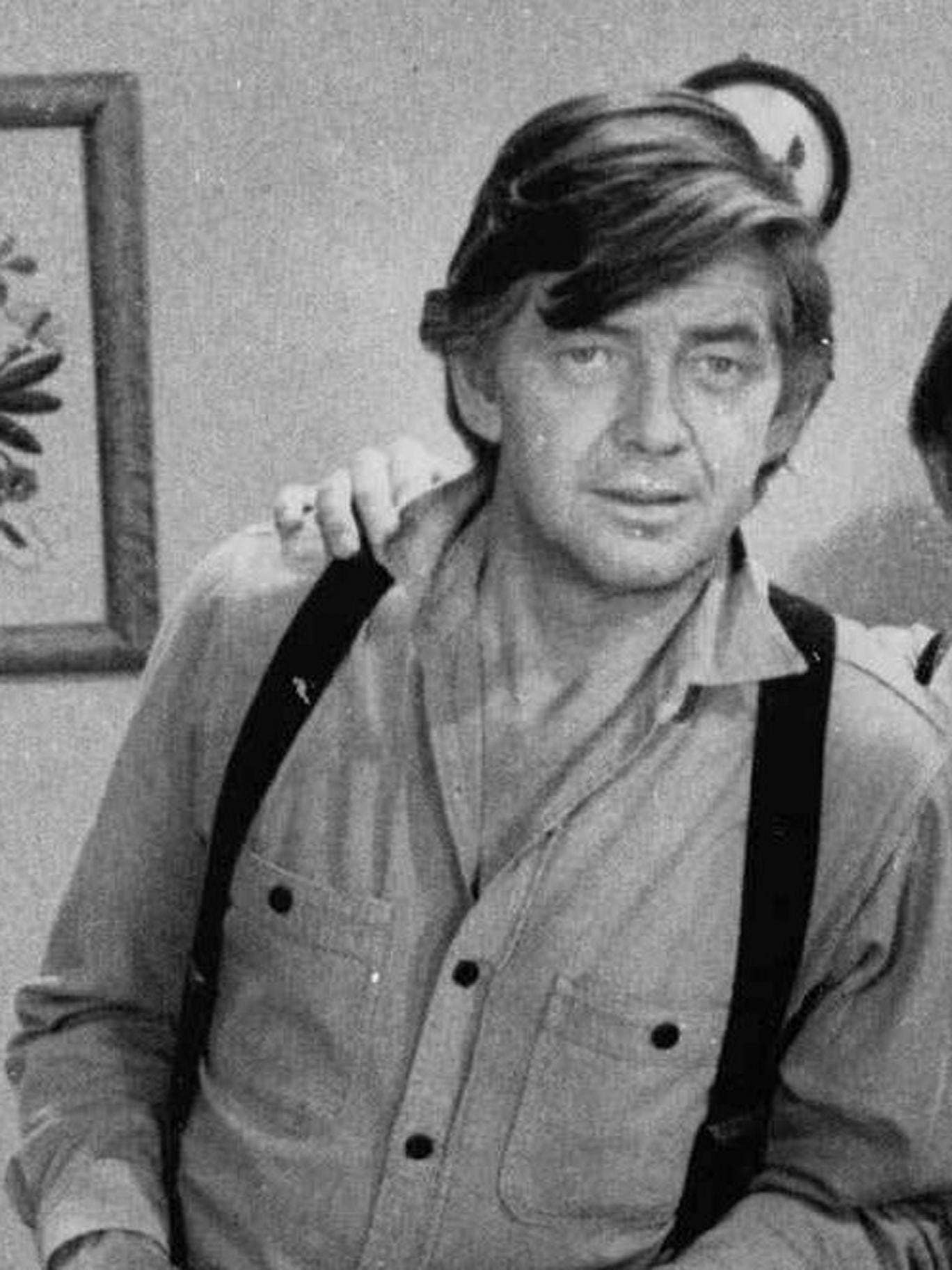 Ralph Waite in 'The Waltons' in 1975