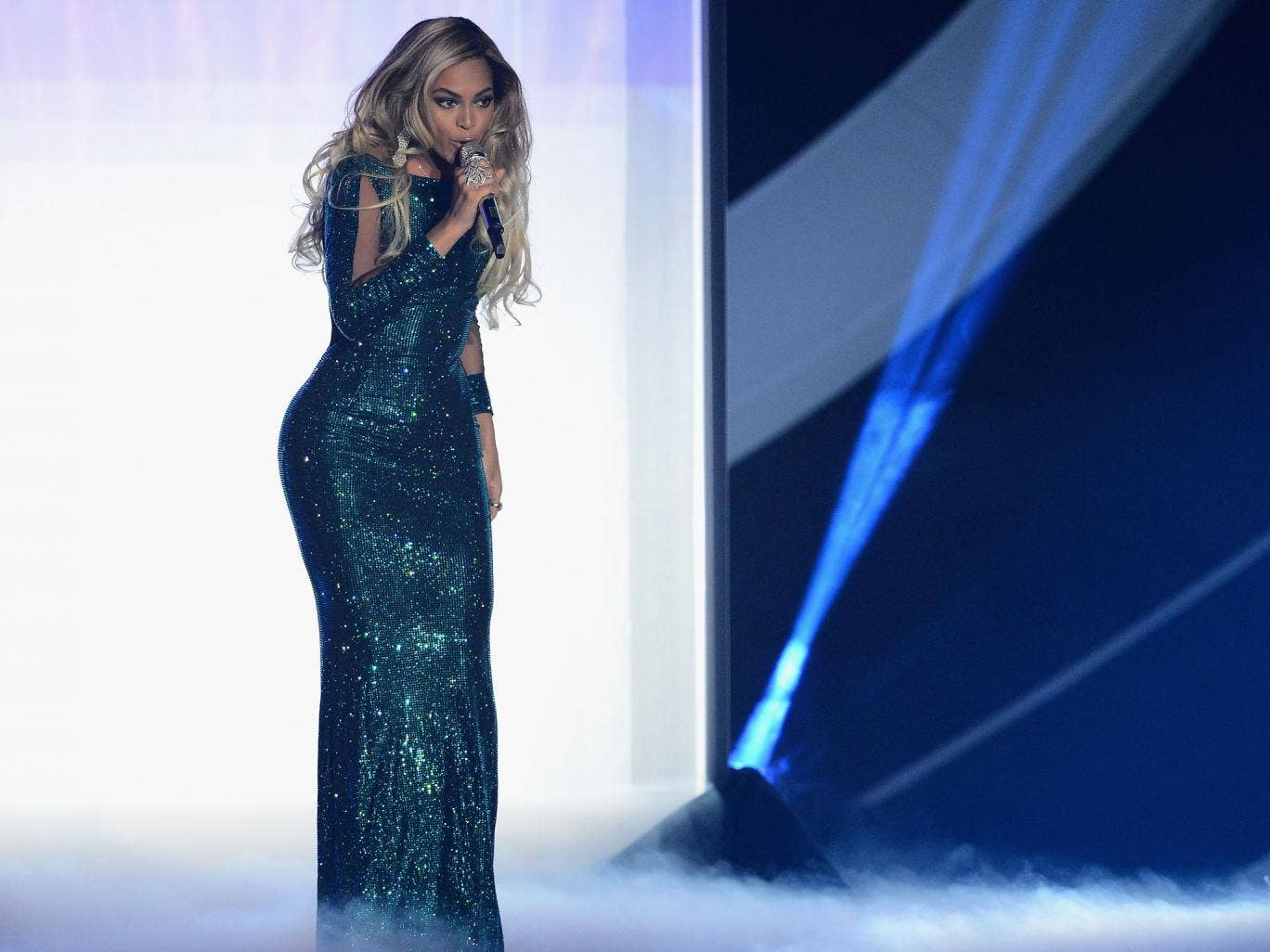 Beyonce was the most-tweeted about performer at the Brit Awards 2014, which broke the record for the most-tweeted about UK TV show
