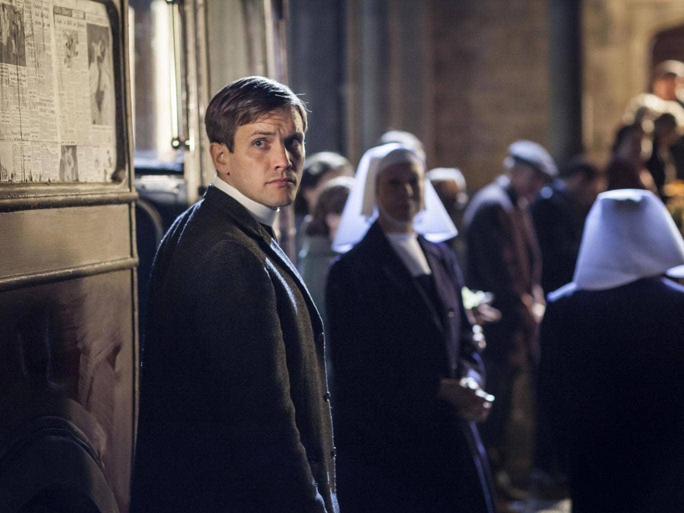 In praise of youth: Tom Hereward as the youthful vicar in Call the Midwife