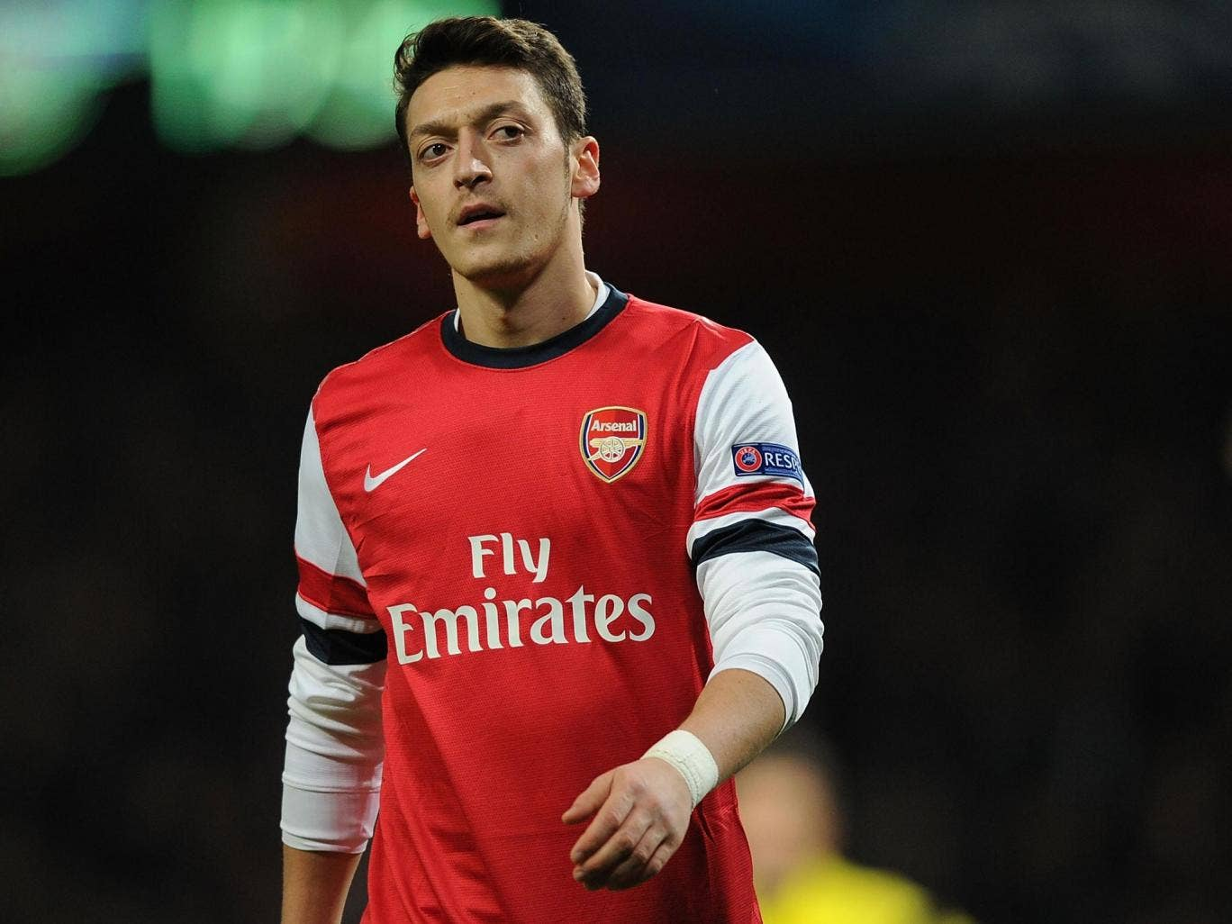 Mesut Özil's lacklustre display showed the effects of a busy run of games since Christmas