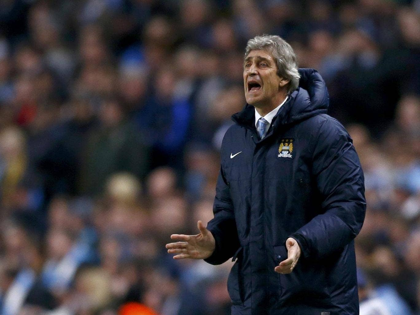 Manuel Pellegrini said Jonas Eriksson should not have been referee on Tuesday because he was Swedish