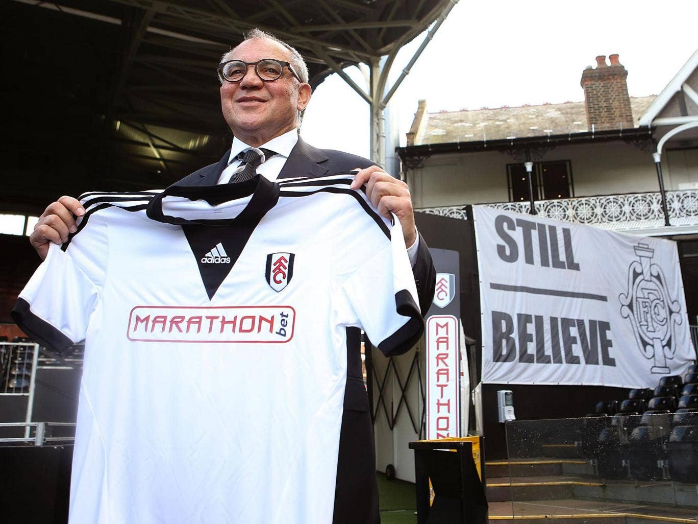 Felix Magath said shoring up Fulham's defence was a priority