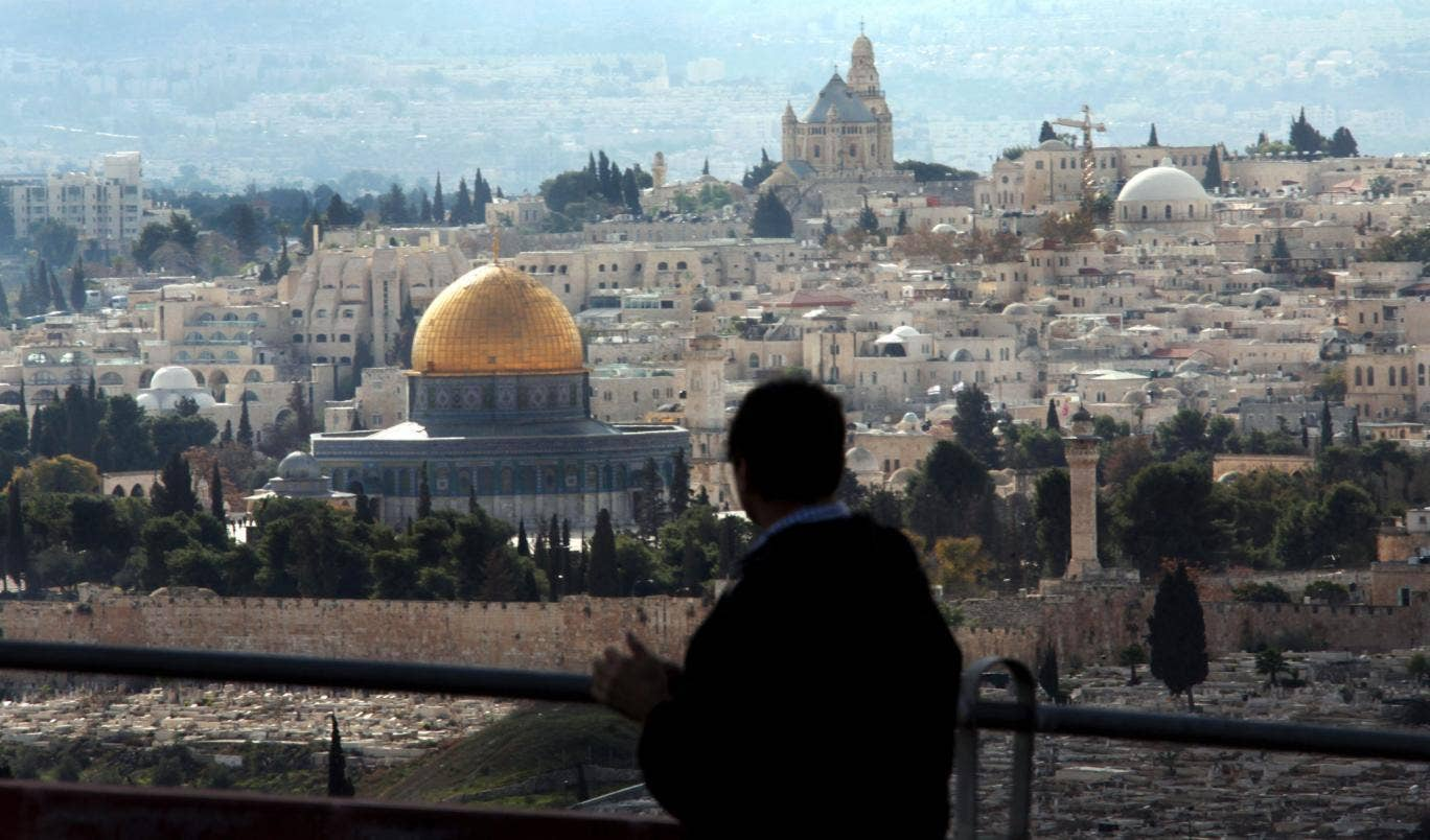 Complex diplomatic conundrum: Dome of the Rock, in Jerusalem's Old City
