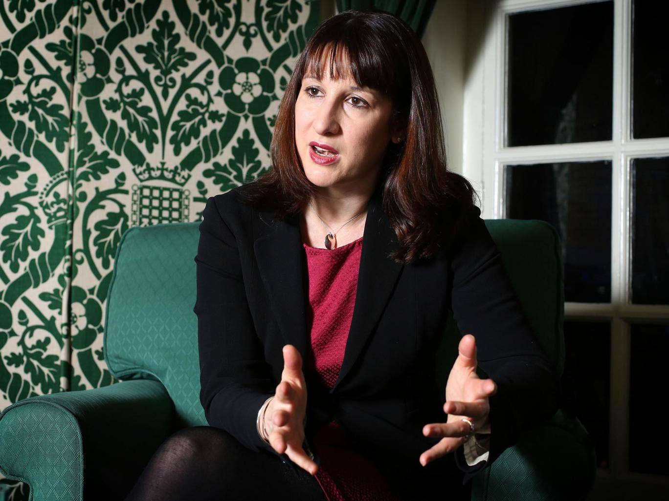 The shadow work and pensions secretary Rachel Reeves says the benefits system is broken