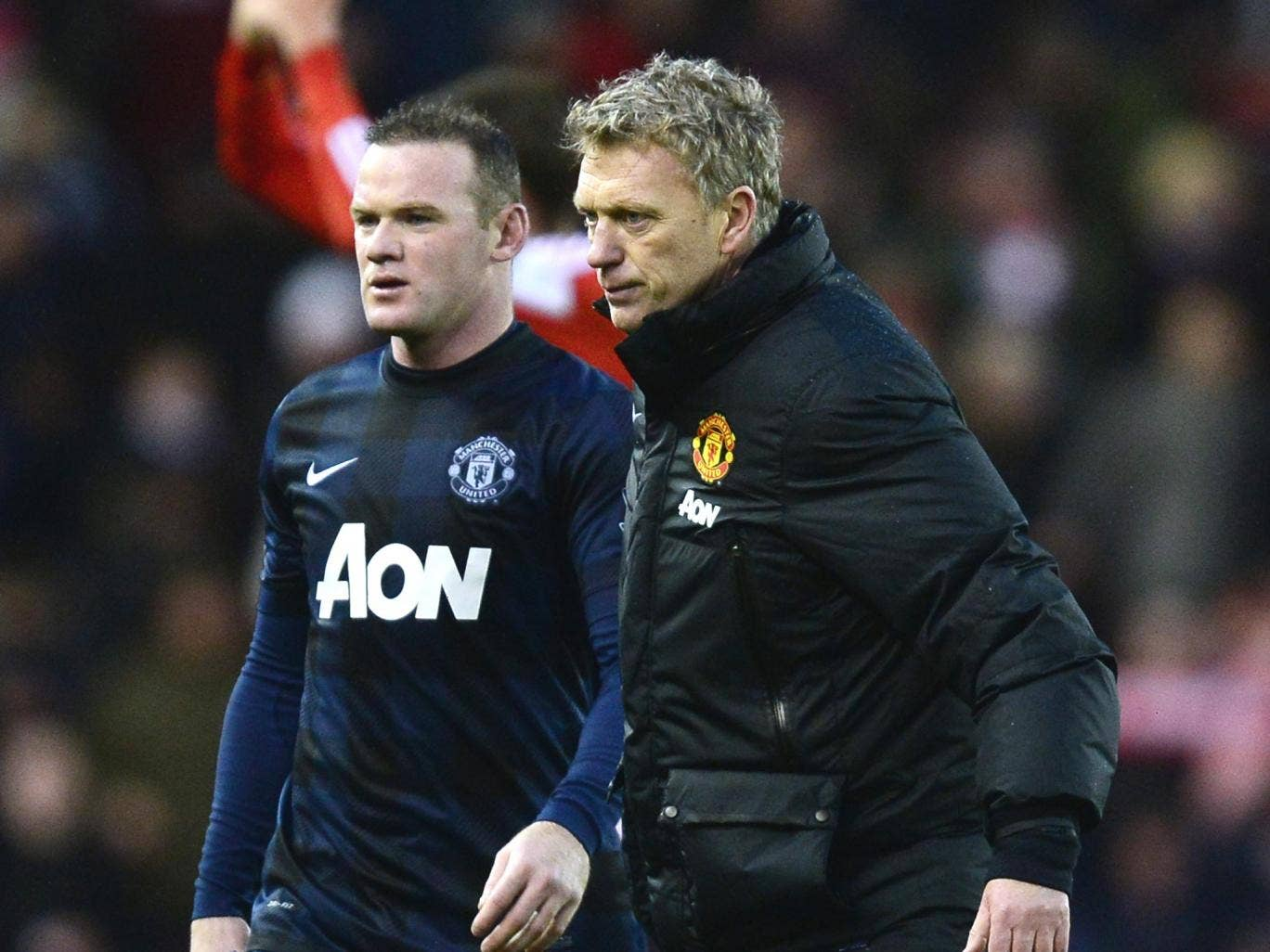 David Moyes has completed a new deal for Wayne Rooney