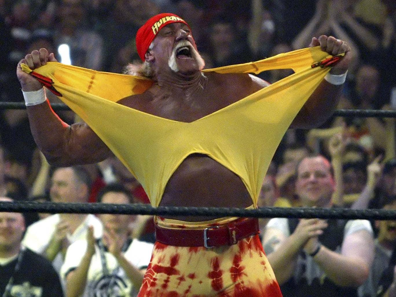 Hulk Hogan: the man who ripped shirts across the country in the name of entertainment