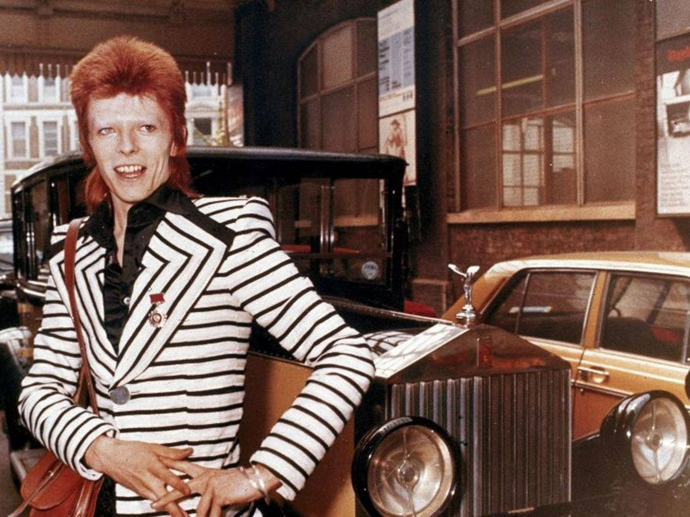 David Bowie has been a virtuoso of fame since the early Seventies