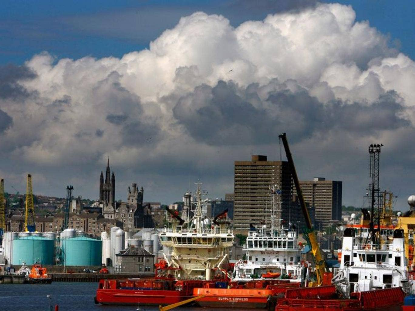A recent report recommended that the oil and gas industry's regulator be moved to Aberdeen from London