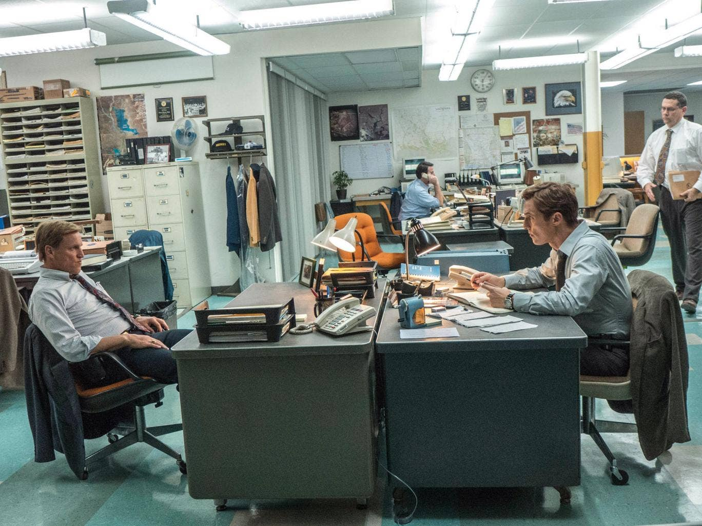 Agents of gloom: Matthew McConaughey and Woody Harrelson in 'True Detective'