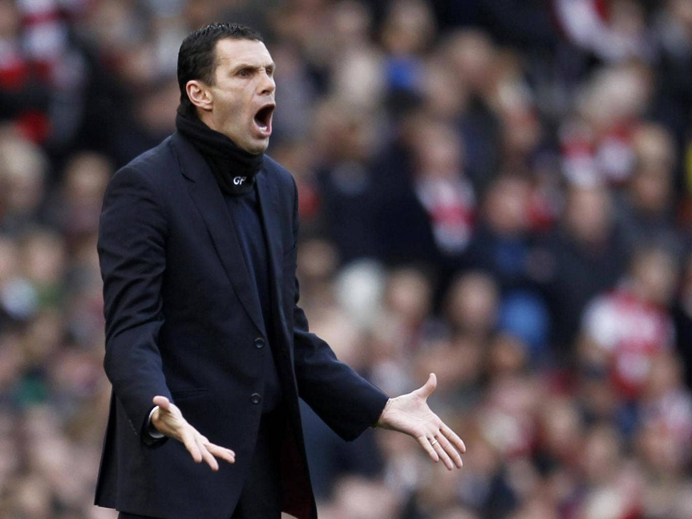 Gus Poyet can hardly believe how bad his Sunderland side are at the Emirates