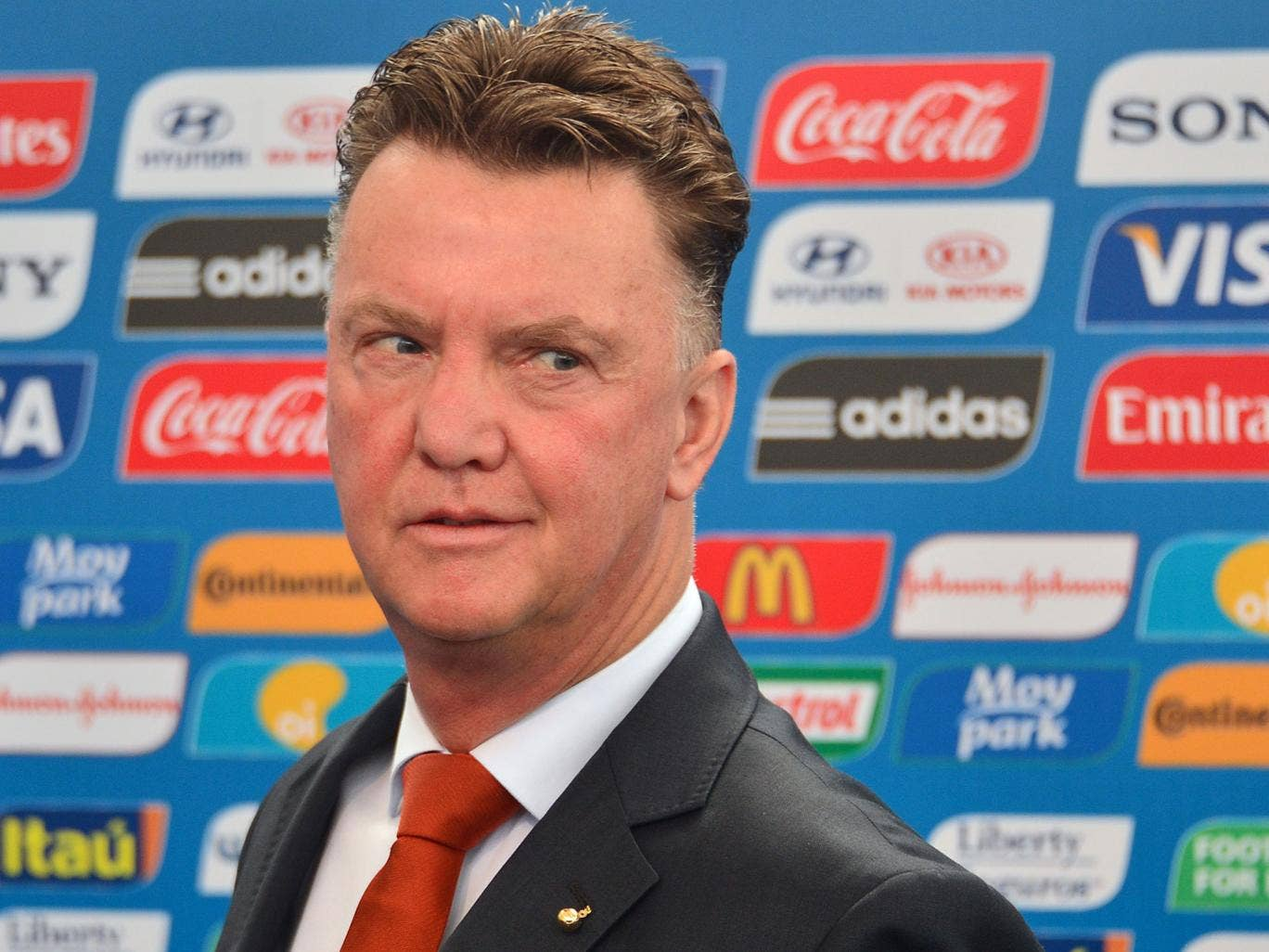 Louis van Gaal admits he could be tempted to take on a 'new challenge' when he leaves his role as coach of the Netherlands national team