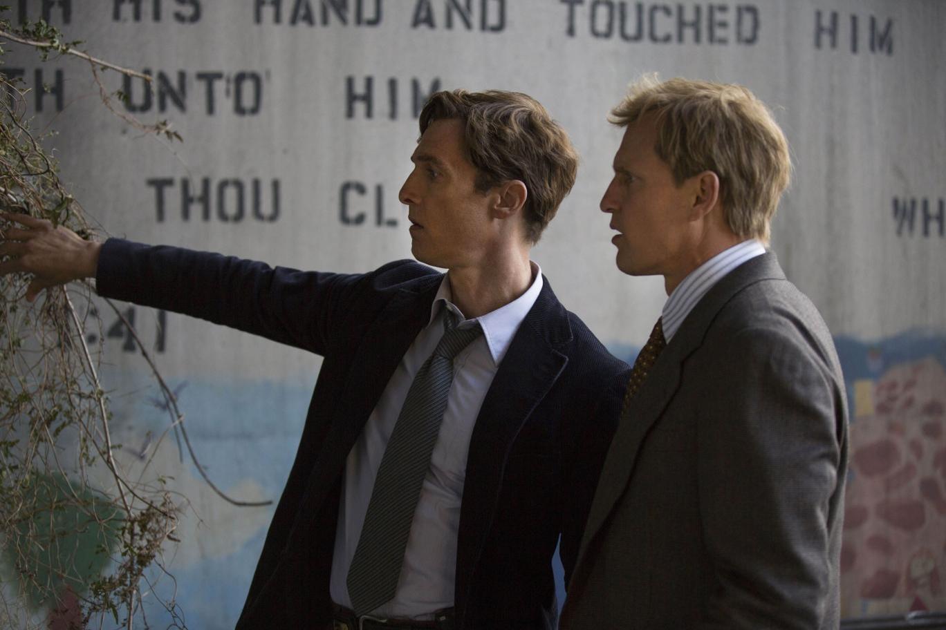Matthew McConaughey and Woody Harrelson star as Louisiana detectives