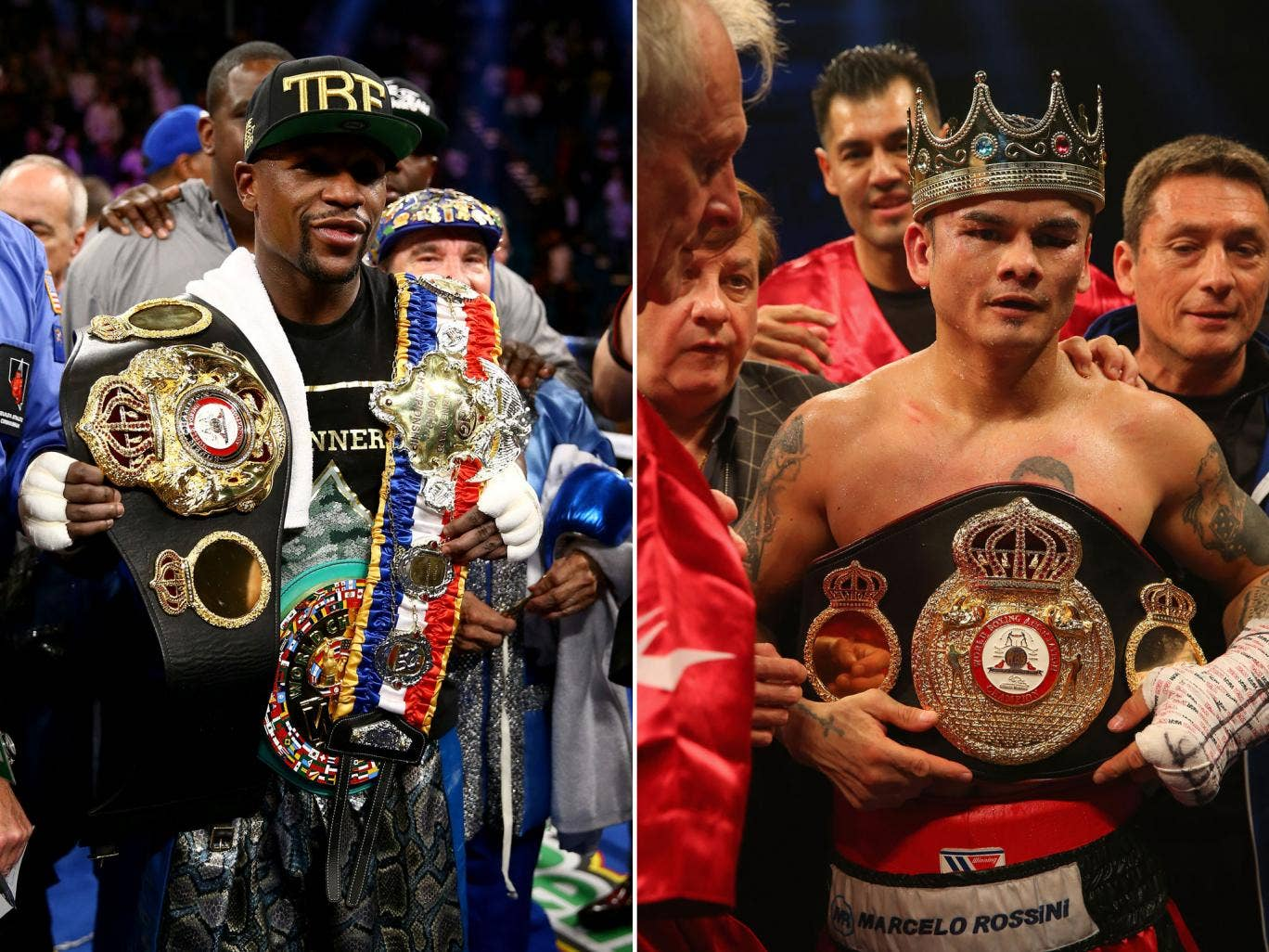 Floyd Mayweather and Marcos Maidana will face off in a welterweight unification bout, scuppering the chance of Amir Khan facing the pound-for-pound king