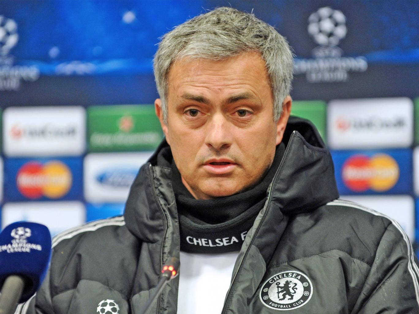 Jose Mourinho laughed off claims Roberto Mancini built his 2010 European Cup winning side