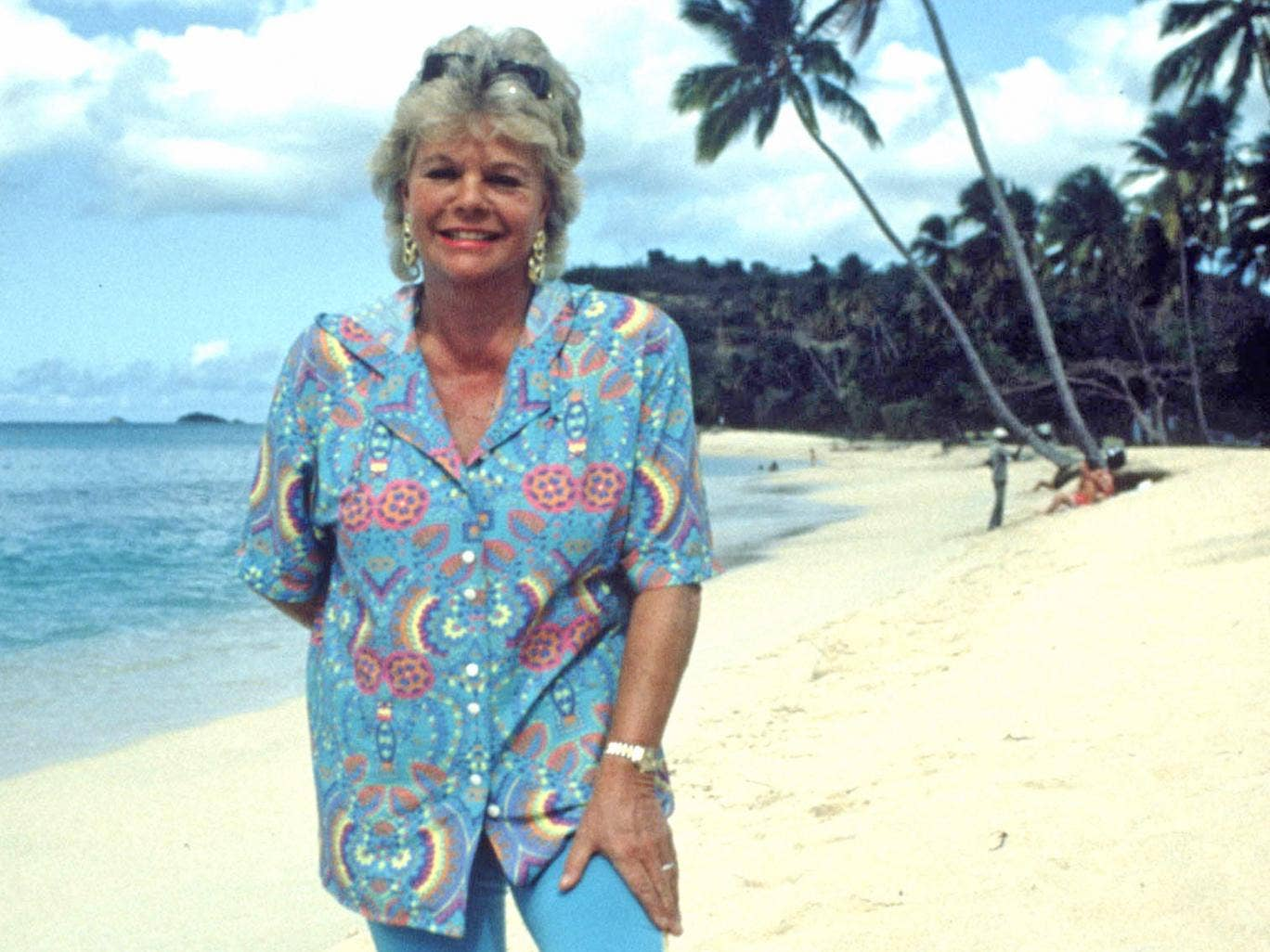Holiday queen: 'Wish You Were Here?' host Judith Chalmers