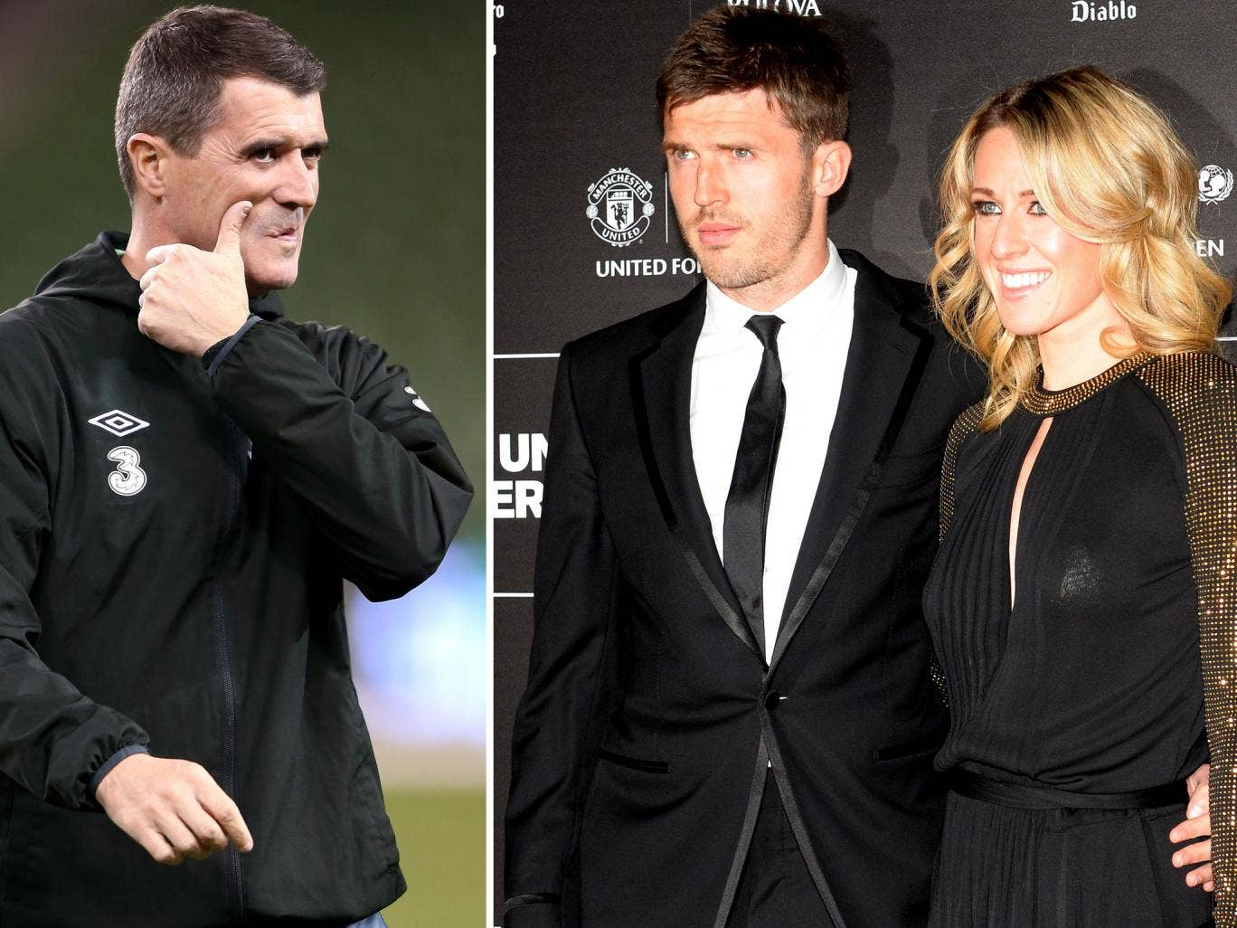 Roy Keane derided Michael Carrick for giving a 'flat' interview, which provoked his wife, Lisa