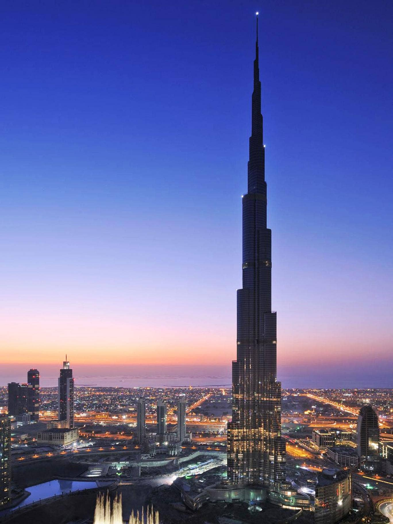 Tower record: the Burj Khalifa