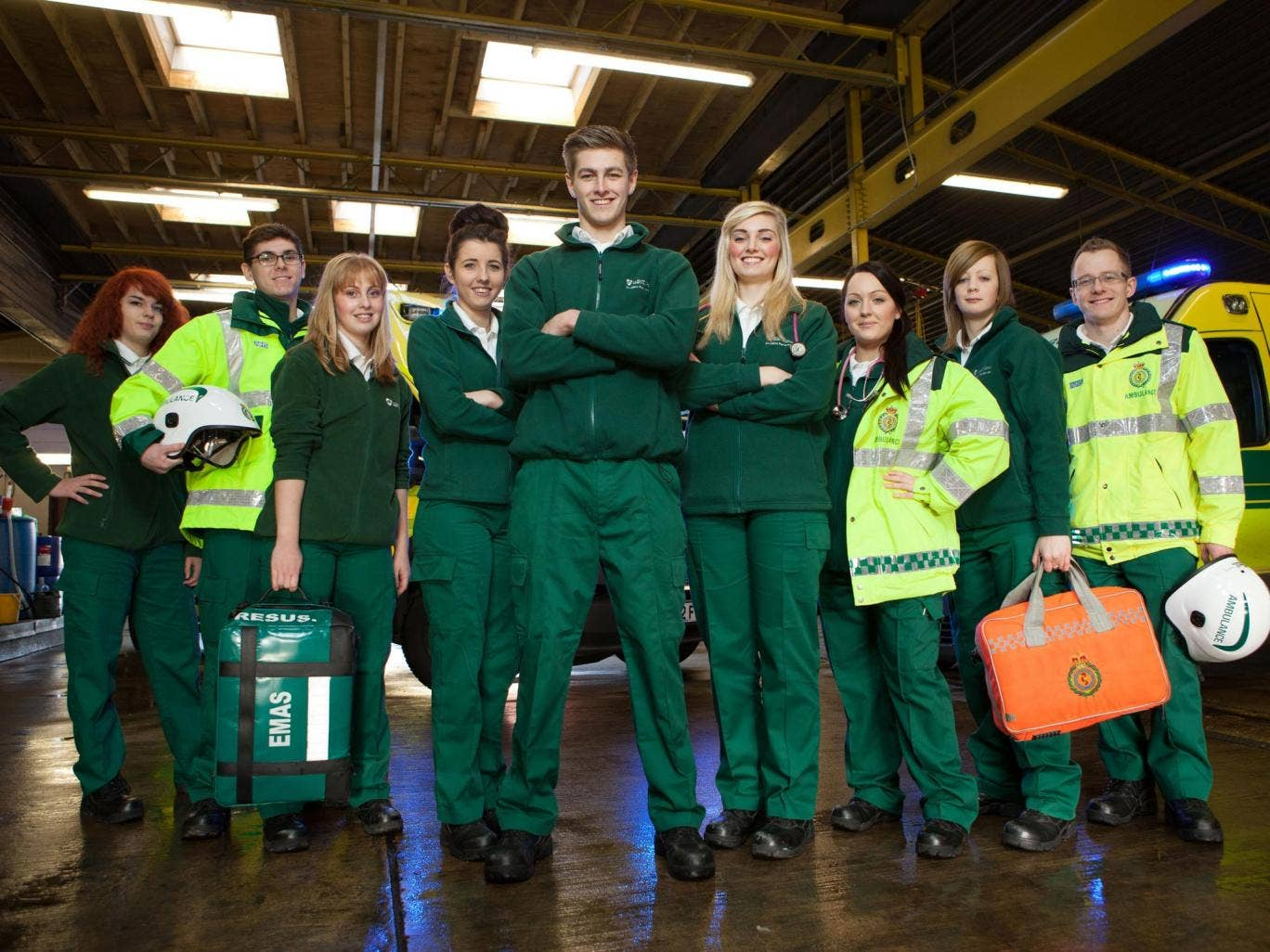 Road to recovery: the young recruits in Junior Paramedics