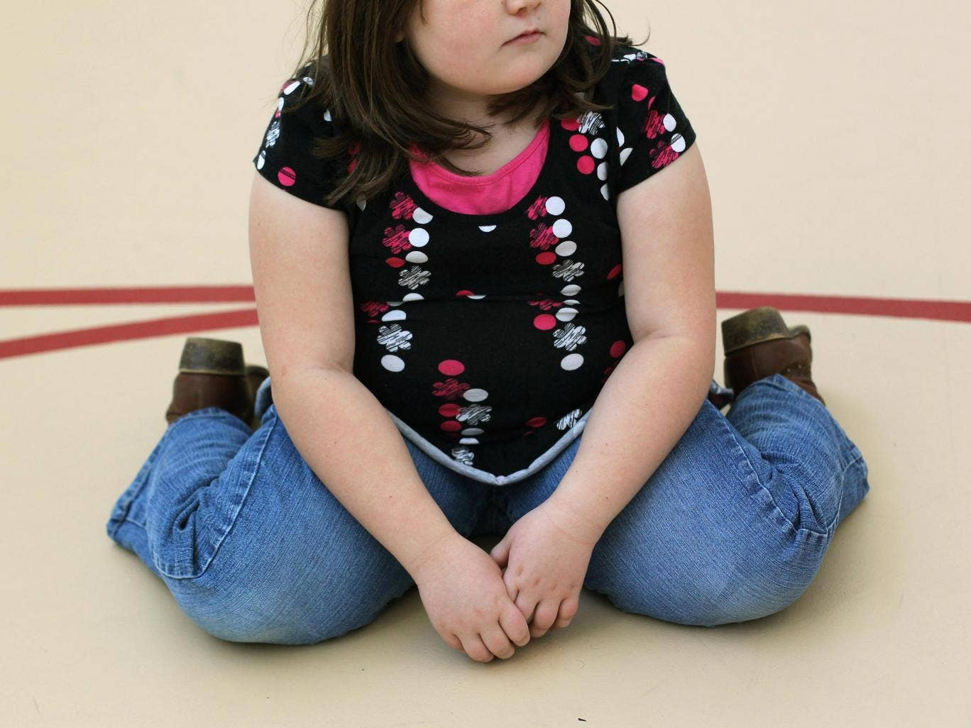Over the last three years, 183 children aged under 12 were found to weigh more than 16 stone