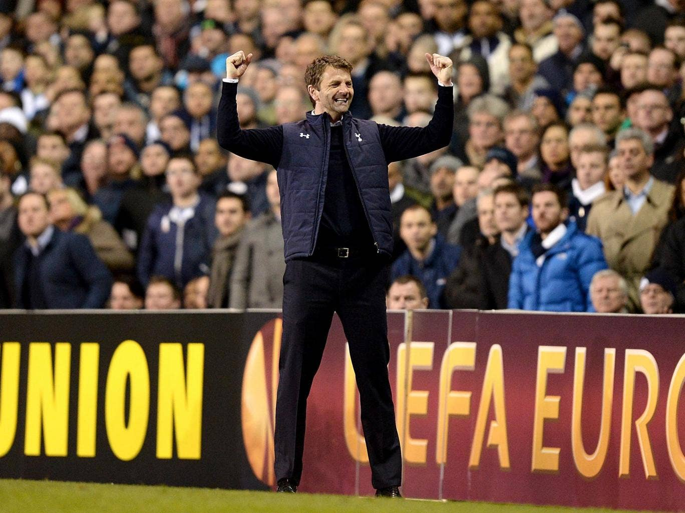 Tim Sherwood hopes the victory against Dnipro will inspire the team