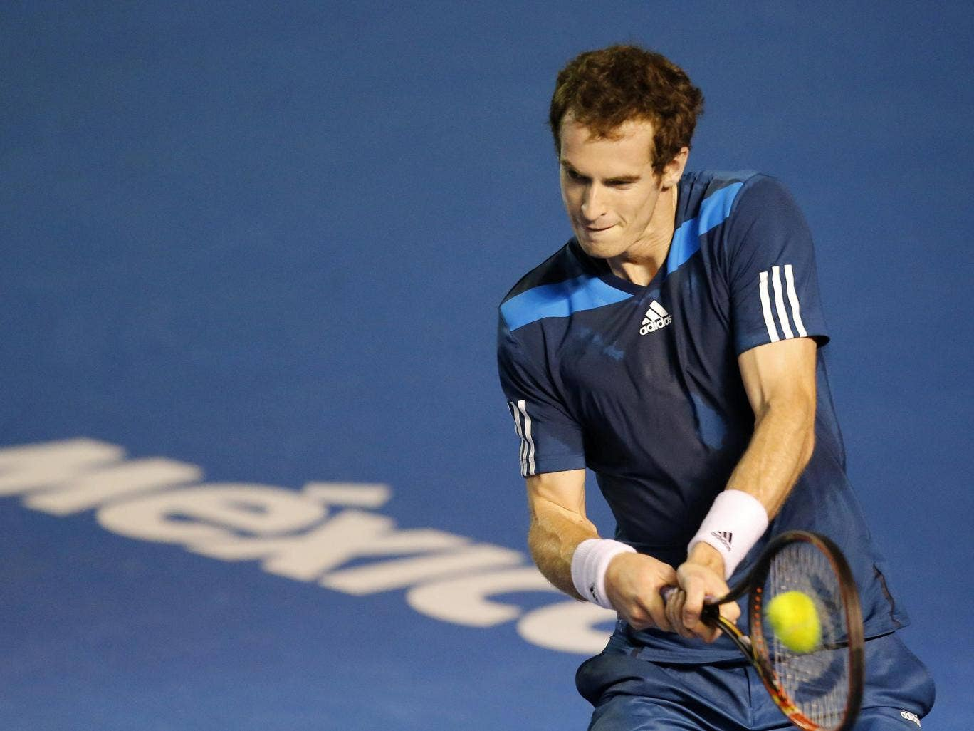 Andy Murray beat Giles Simon in the Abierto Mexicano Telcel quarter-finals