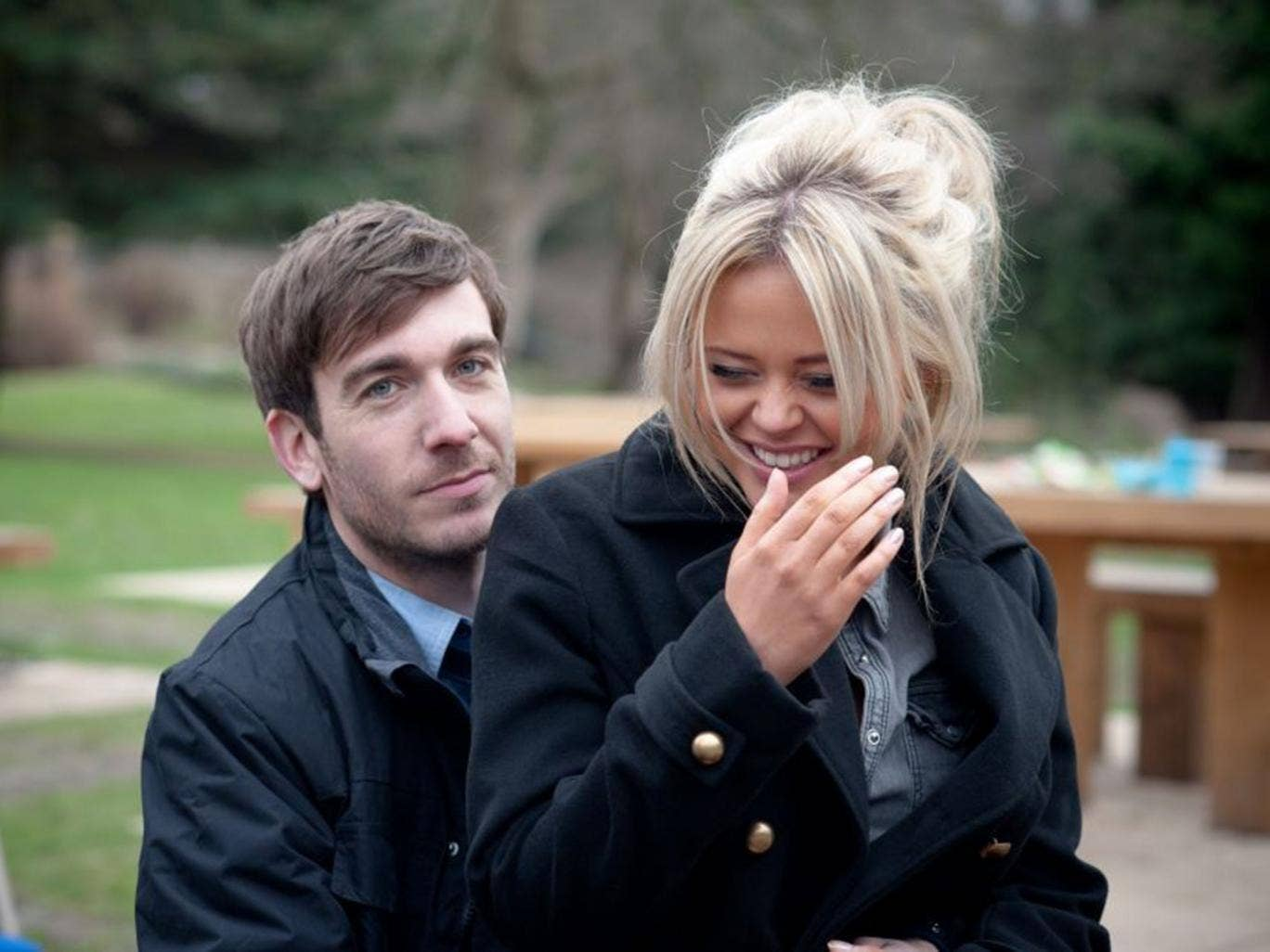 Philip McGinley and Emily Atack in 'Almost Married'