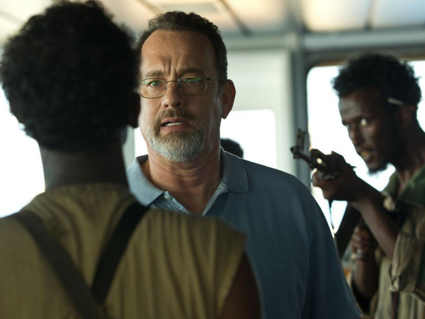 Tom Hanks stars in Captain Phillips