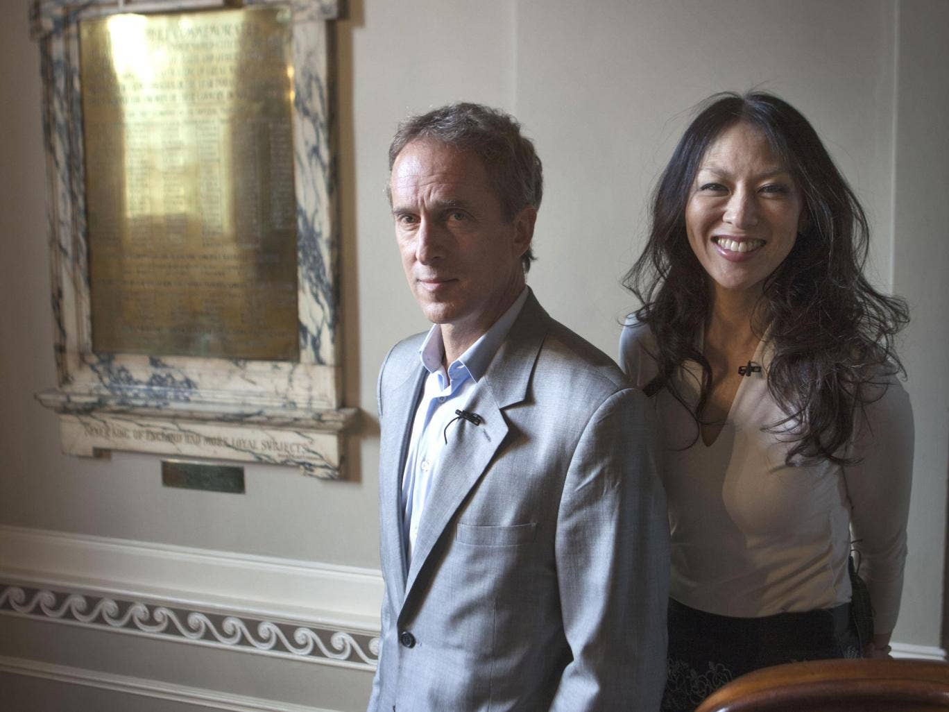 Yale law professors, Amy Chua and Jed Rubenfeld, authors of 'The Triple Package'
