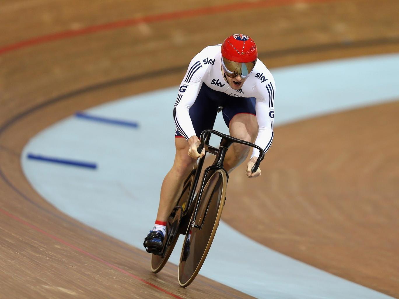 Three-time Olympic champion Jason Kenny