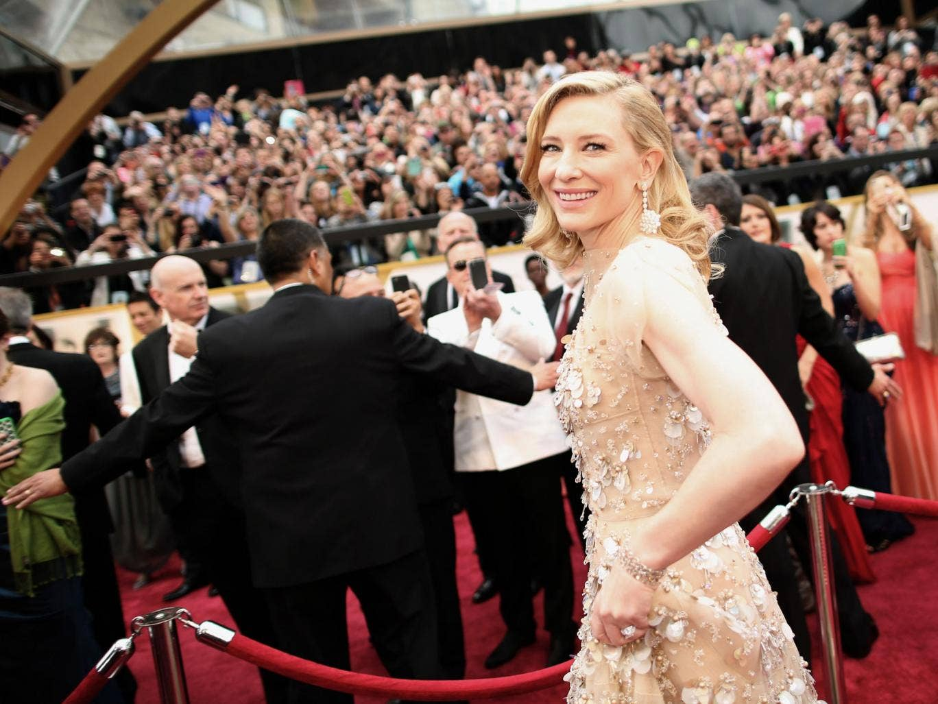 Cate Blanchett won Best Actress at the 86th Academy Awards
