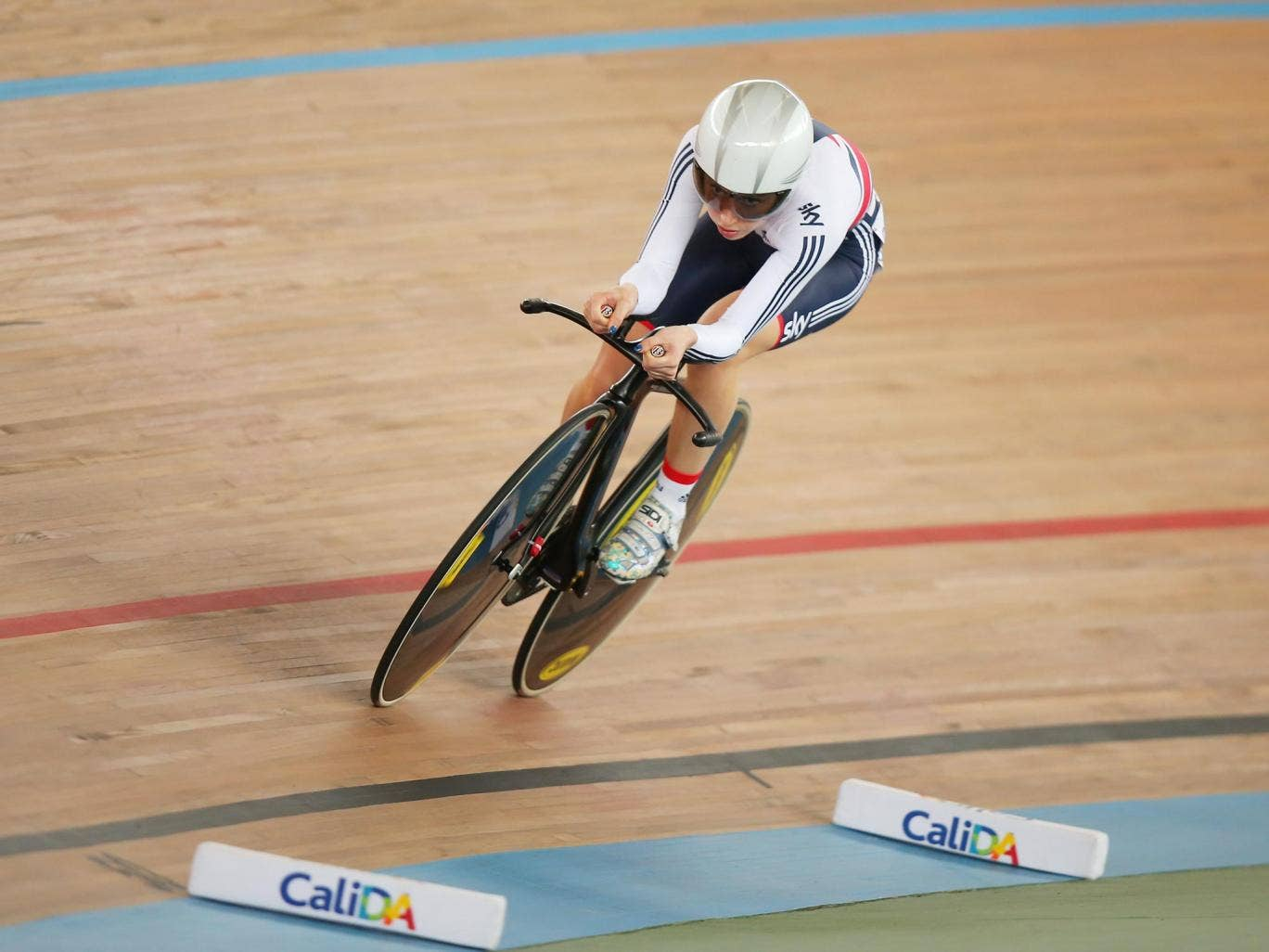 Laura Trott claimed silver in the women's omnium to end Team GB's campaign at the Track Cycling World Championships