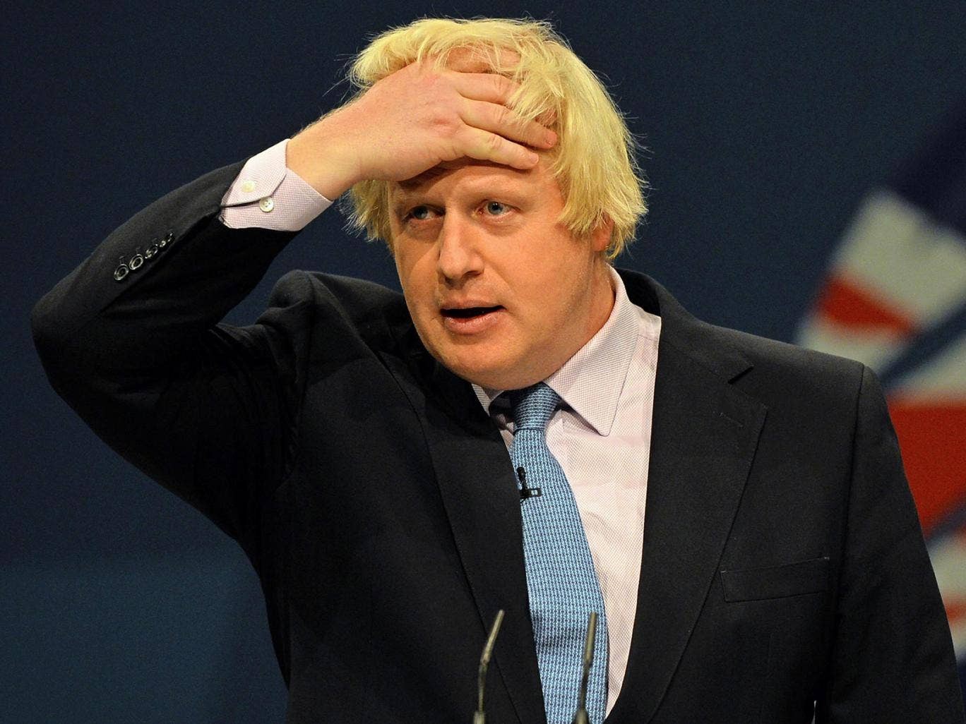 London Mayor Boris Johnson has said that he does not want to become the Tory party leader