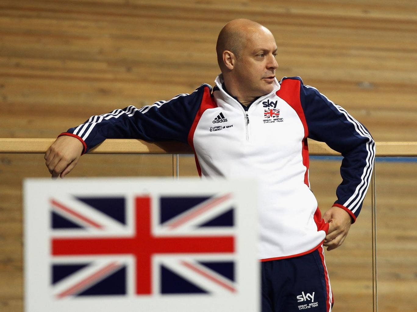 Sir Dave Brailsford was not present at the Track World Championships