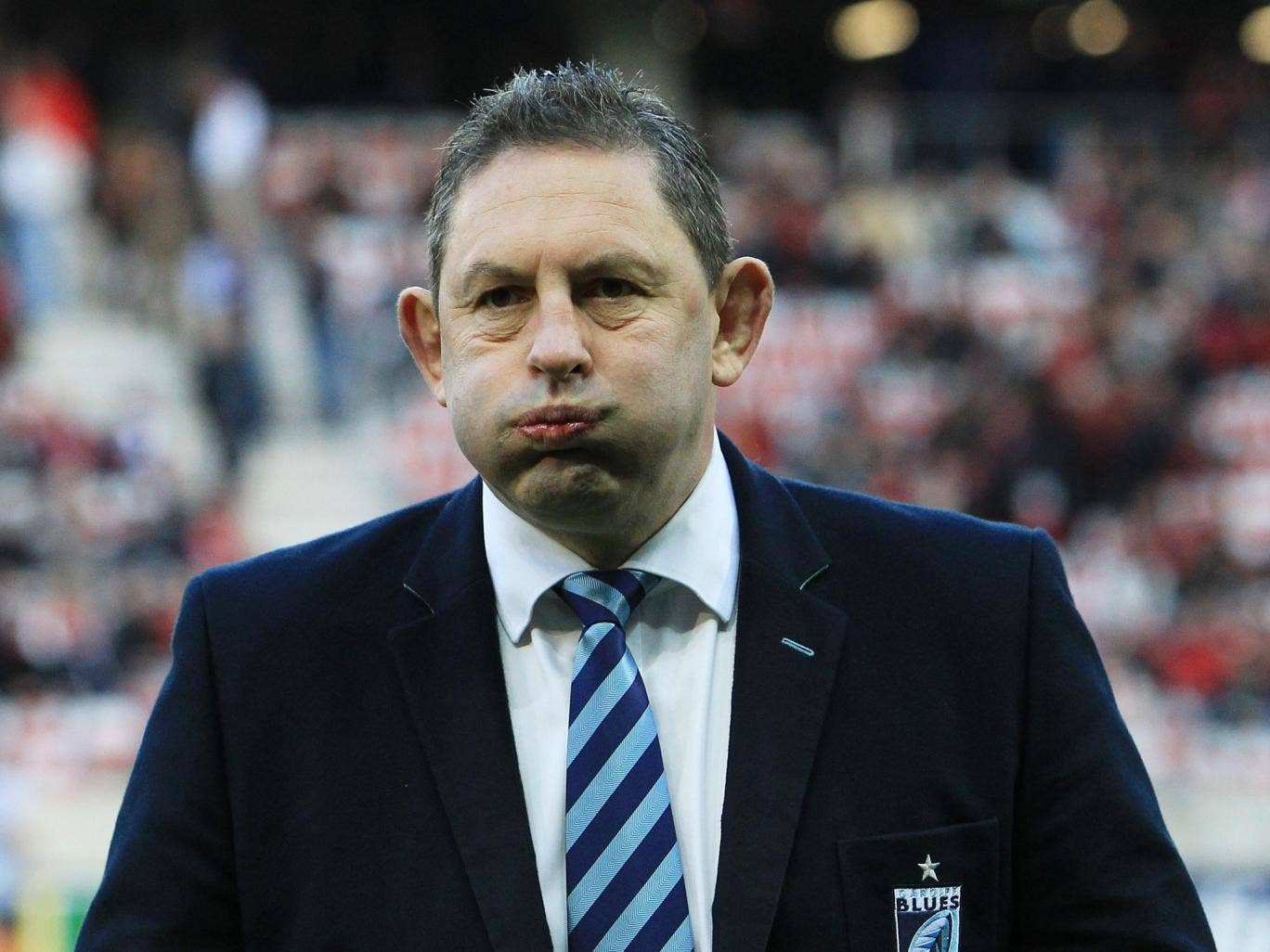 Phil Davies resigned with immediate effect from Cardiff Blues following the defeat to Zebre