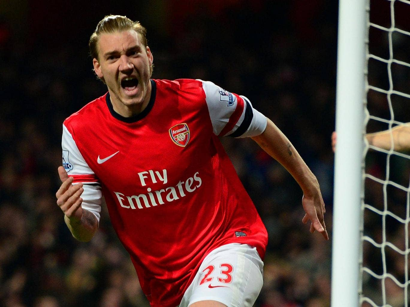 Nicklas Bendtner has admitted that he is unhappy with his lack of playing time at Arsenal having played just 82 minutes of Premier League football this season