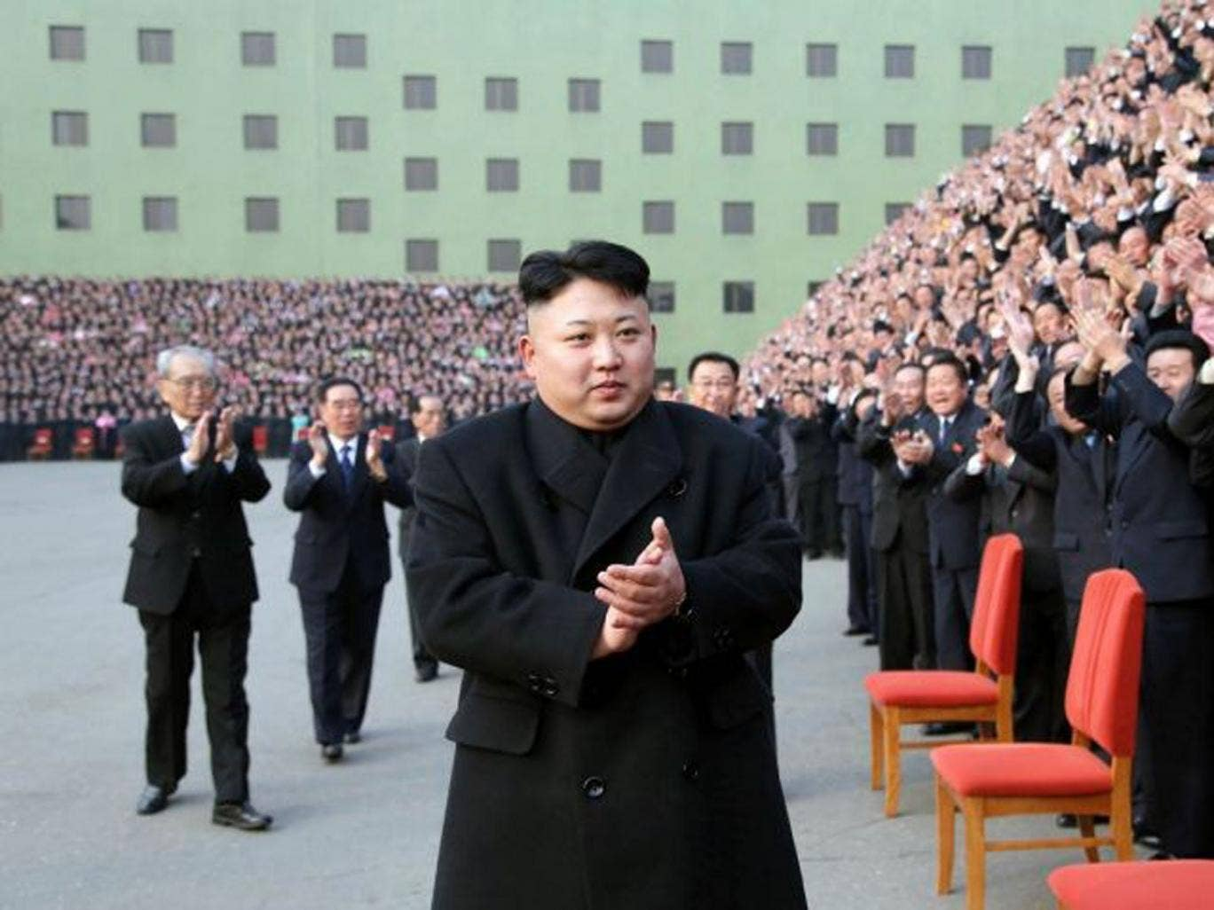 Kim Jong Un, the third in his family to rule the secretive state, is running unopposed in a legendary mountain district.