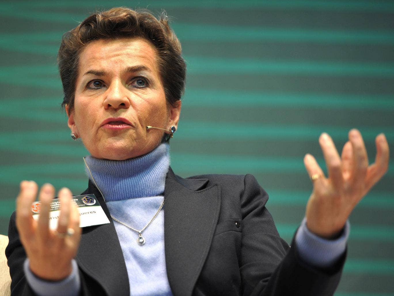 Christiana Figueres, executive sectretary of the UNFCC