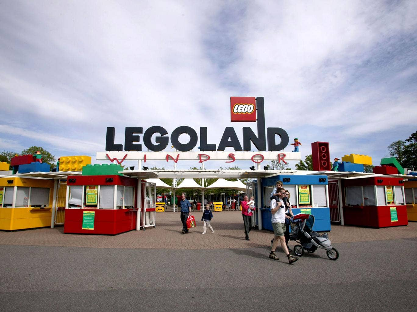 Legoland was forced to shut down its Facebook page after a number of offensive posts