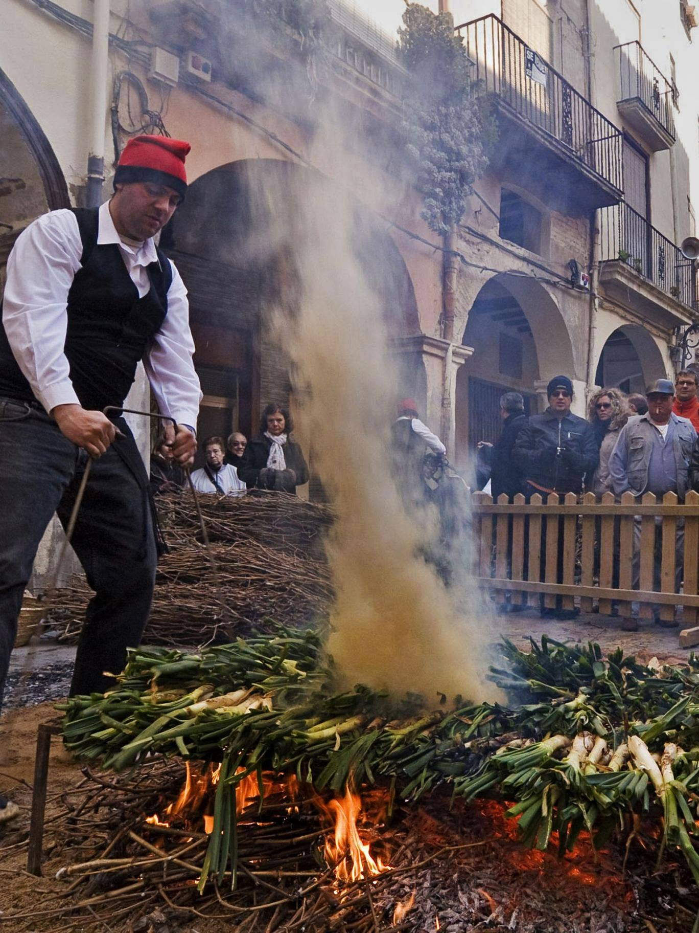 Flame grilled: a calçotada in Valls