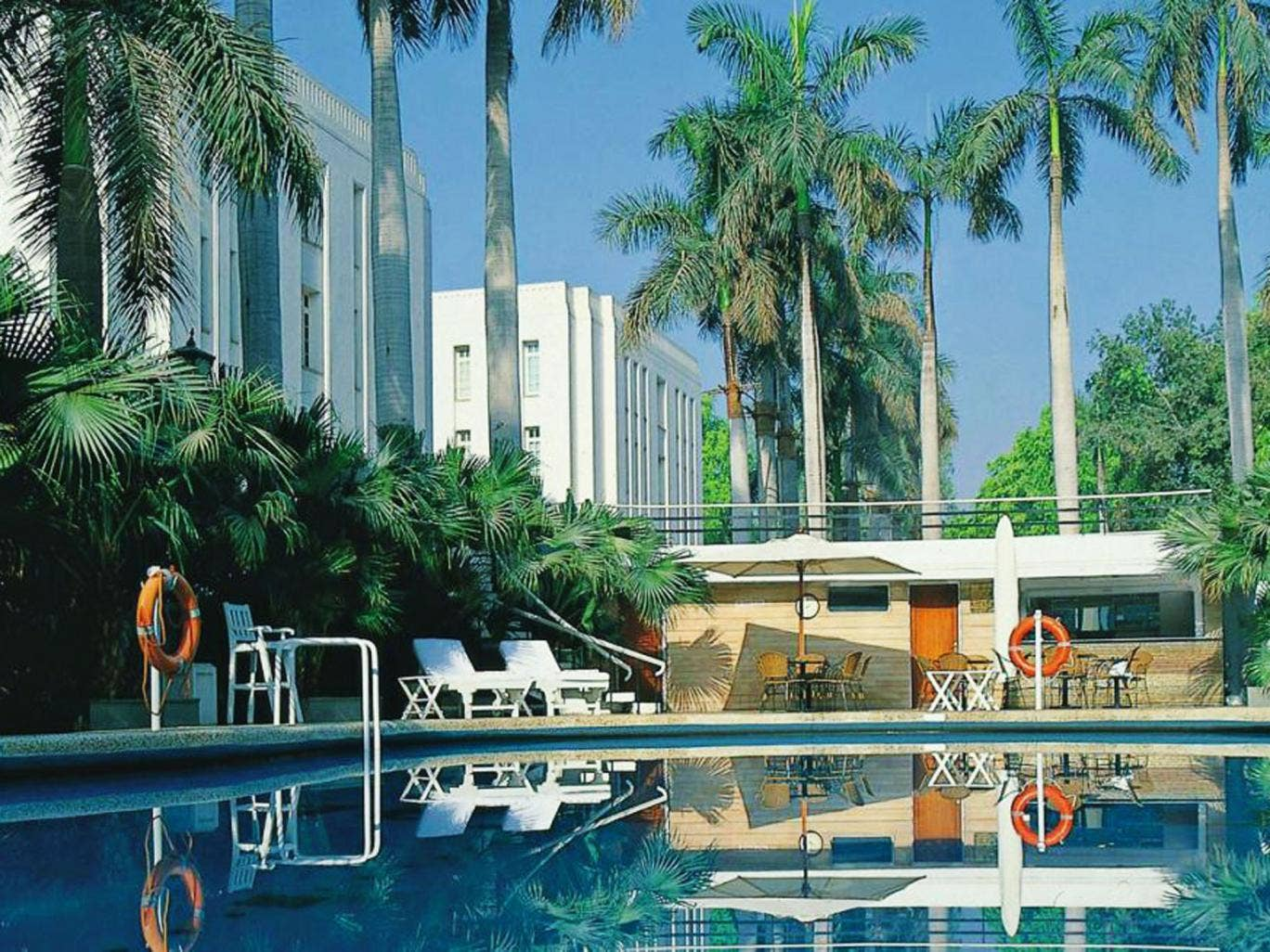 Pool resources: the Imperial Hotel blends character and style