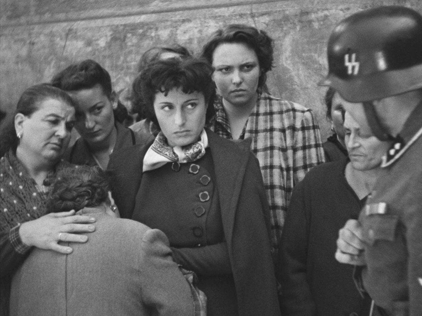 Eye contact: Anna Magnani in 'Rome, Open City'