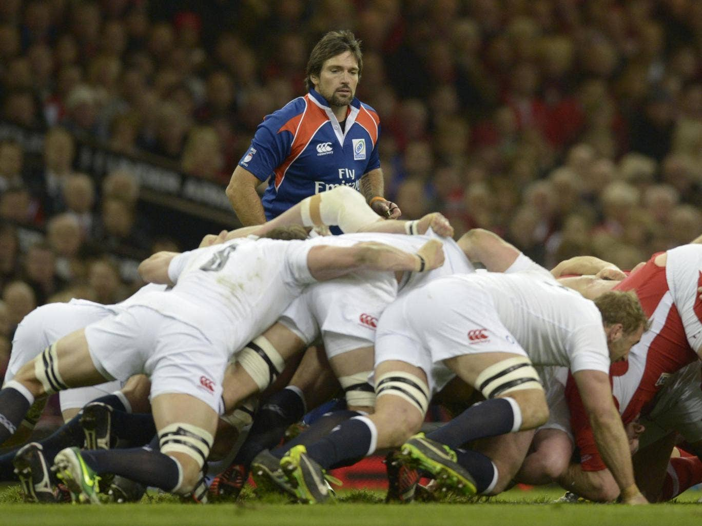 Steve Walsh came in for criticism after last year's meeting between England and Wales in Cardiff, which the hosts won