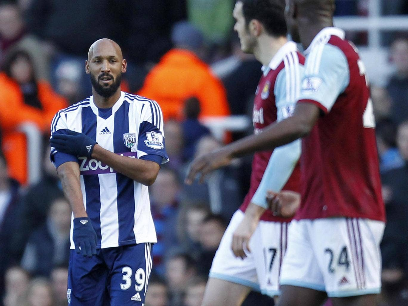 The FA wanted a longer ban for Nicolas Anelka after his gesture, but the player's counsel argued it was less serious than the Suarez case