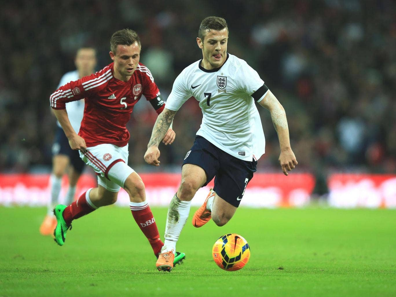 Jack Wilshere will have a maximum of five games for Arsenal in which to stake his claim for the World Cup