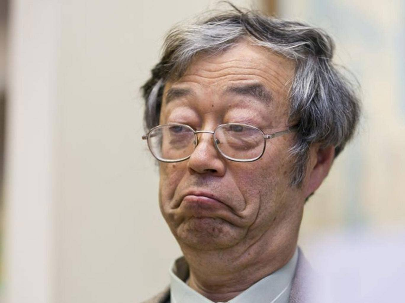 Satoshi Nakamoto, who denies being the founder of Bitcoin