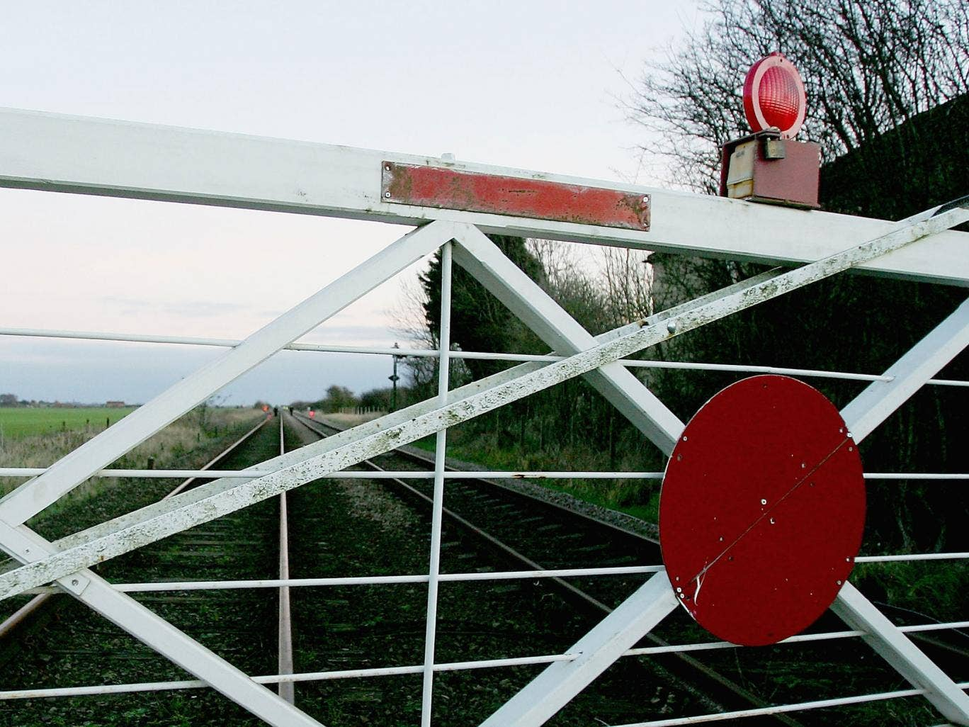Network Rail said it had closed almost 800 level crossings since 2010