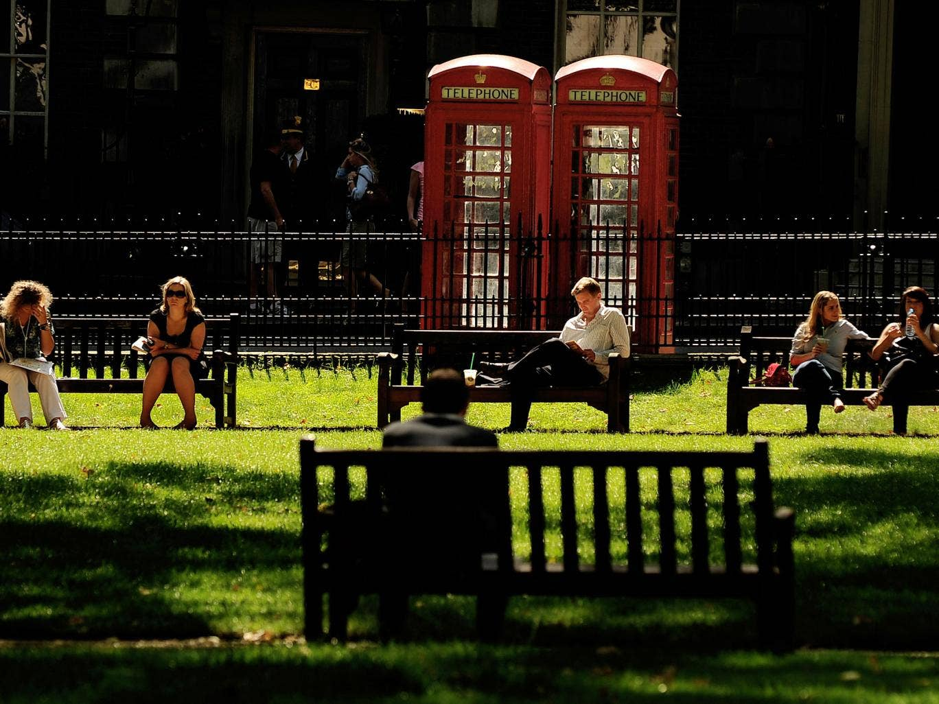 London and the south-east are set to enjoy highs of 18C