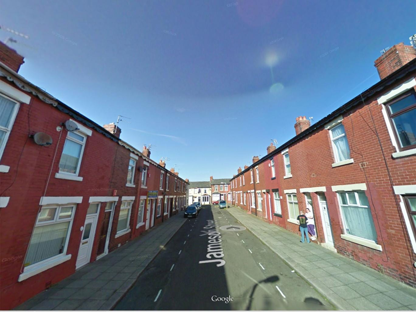 The two-year-old was taken to hospital from an address in Jameson Street at about 11.45pm on Tuesday night after she reportedly suffered a cardiac arrest.