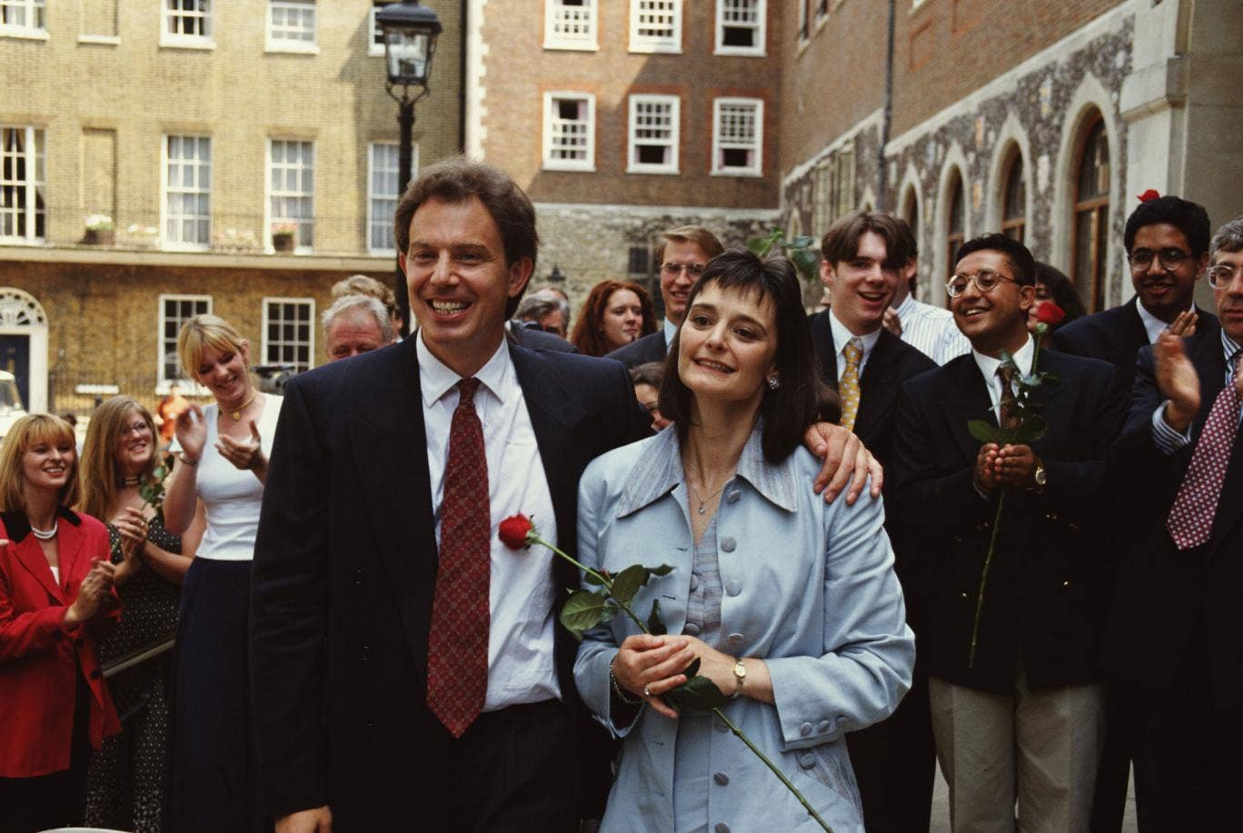 Tony Blair beat Margaret Beckett and who else in the 1994 Labour leadership election